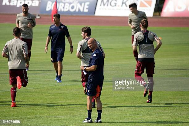 The Italian Serie A Club Torino holds the first training training of the season 20162017 at Sisport Center in Turin