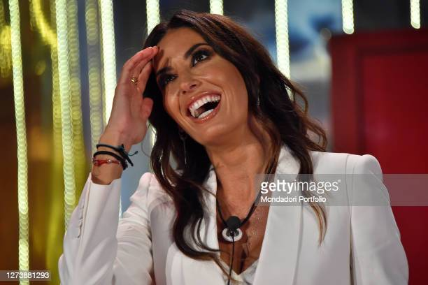 The Italian showgirl Elisabetta Gregoraci during the Second episode of the show Big Brother Vip 5 in the cinecittà studios. Rome , September 18th,...