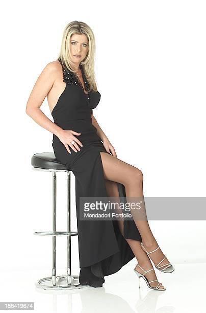 The italian showgirl Loredana Lecciso February 22 2002