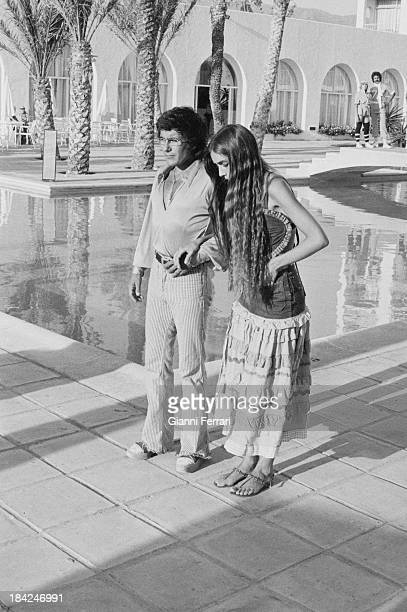 The Italian singer Al Bano with his wife American singer Romina Power Marbella Andalusia Spain