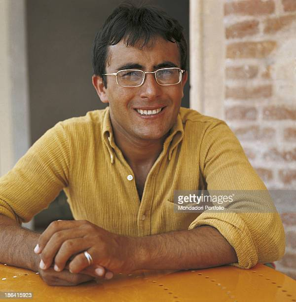 The italian singer Albano Carrisi in art Al Bano poses on his house of Cellino San Marco Cellino San Marco Italy 1967