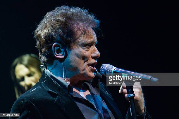 The Italian singer and showman Massimo Ranieri performs live in a sold out date of quotSogno e son destoquot in Turin on December 3 2014