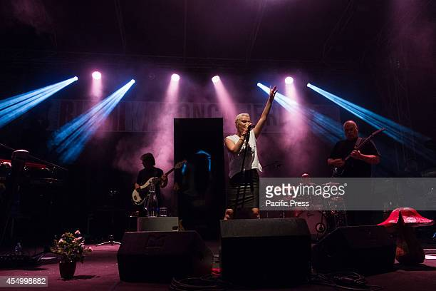 The Italian singer Arisa performs live during the second night of Ritmika Festival 2014 in her Se Vedo Tour She won the last Sanremo Festival with...