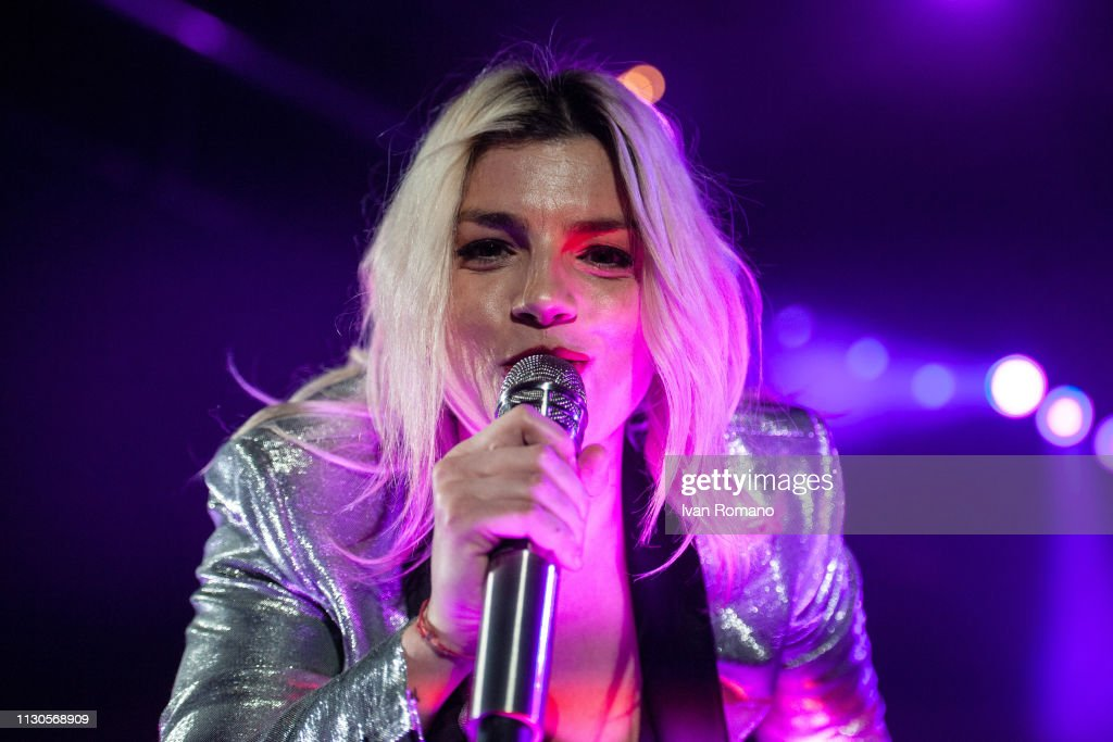 ITA: Emma Marrone Performs At The PalaSele Eboli, Milan