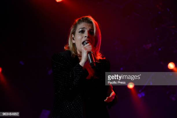 PALAPARTENOPE NAPLES ITALY The Italian singer Emmanuela Marrone also known as Emma performing live for the last date of her tour 'Essere Qui Tour...