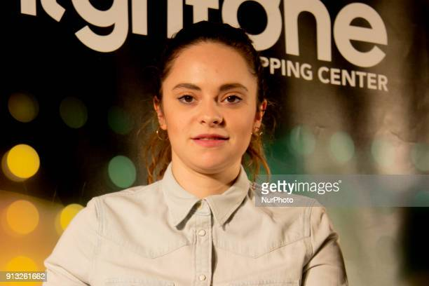 The italian singer Francesca Michielin meets the fans and presents her new album quot2640quot at the Grifone Shopping Center in Bassano del Grappa...