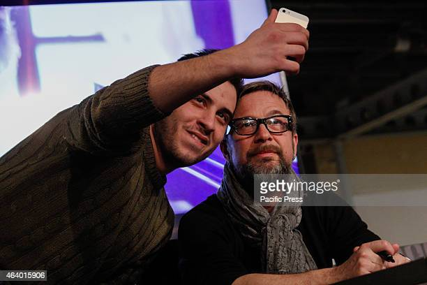 The Italian songwriter Marco Masini met his fans at Shopping Center 8 Gallery He just back from the last Sanremo Festival where he brought the song...