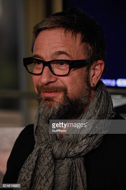 The Italian songwriter Marco Masini met his fans on February 20 2015 at Shopping Center 8 Gallery in Turin Italy He just back from the last Sanremo...