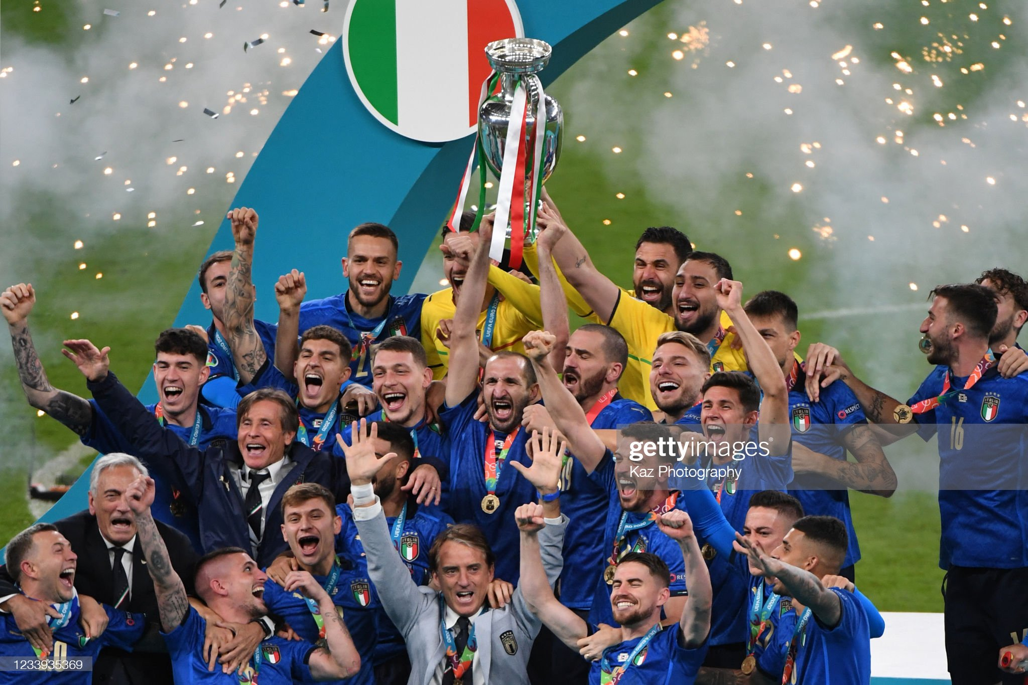 Italy deservedly win Euro 2020
