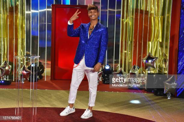 The Italian-Brazilian influencer Denis Dosio during the Second episode of the show Big Brother Vip 5 in the cinecittà studios. Rome , September 18th,...