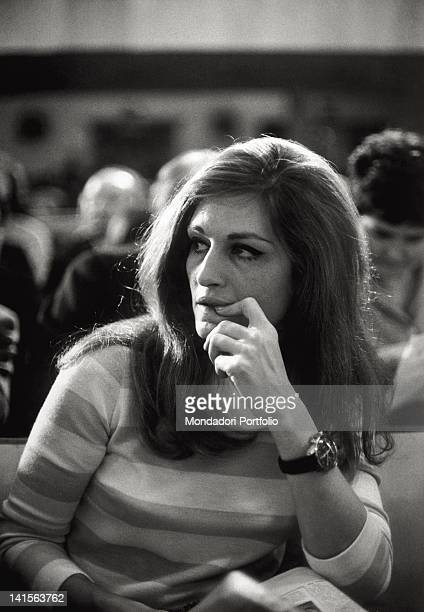 The Italian-French singer Dalida has participated in the 17th Sanremo Festival, presenting the song 'Ciao amore ciao' in tandem with Luigi Tenco....