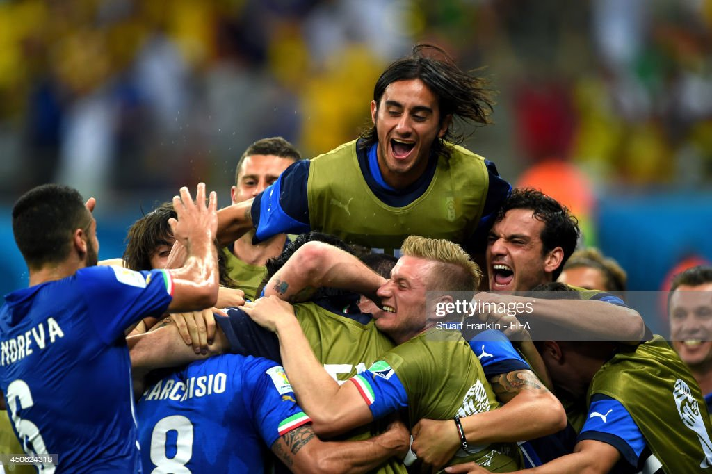 England v Italy: Group D - 2014 FIFA World Cup Brazil : News Photo