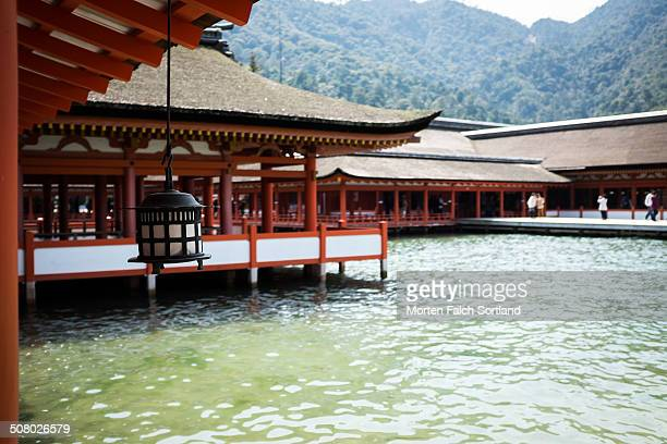 CONTENT] The Itsukushima Shrine is a beautiful shrine at the waterfront of Miyajima Island built on the beach in such a way that when the tide is...
