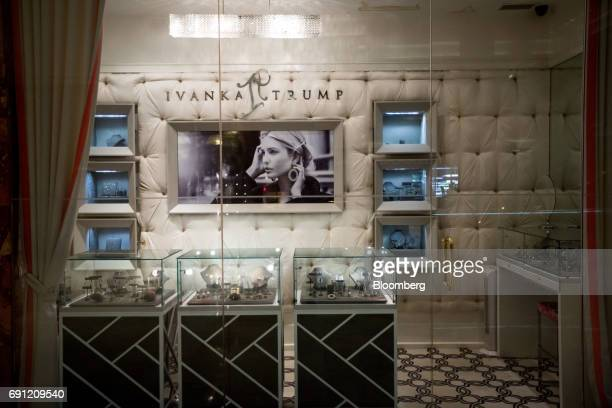 The Ivanka Trump Collection store stands inside Trump Tower in New York US on Thursday June 1 2017 Two Chinese labor activists were reported missing...