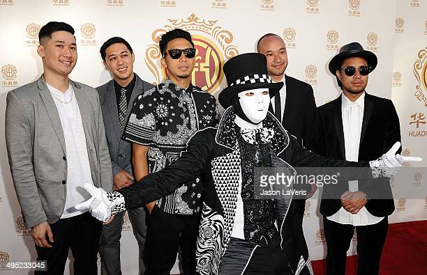 The Jabbawockeez attend the 2014 Huading Film Awards at The Montalban on June 1 2014 in Hollywood California
