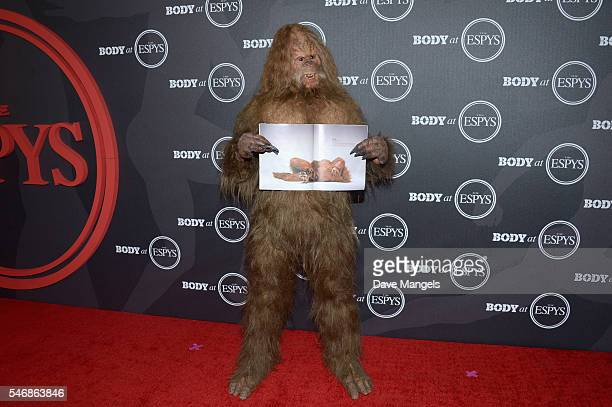 The Jack Link's Sasquatch attend the BODY At The ESPYs preparty at Avalon Hollywood on July 12 2016 in Los Angeles California