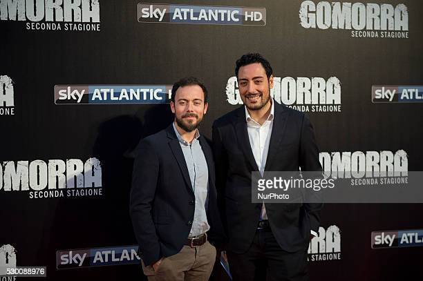 The Jackal attends the 'Gomorra 2 - La serie' on red carpets at The Teatro dell'Opera in Rome, Italy on May 10, 2016.