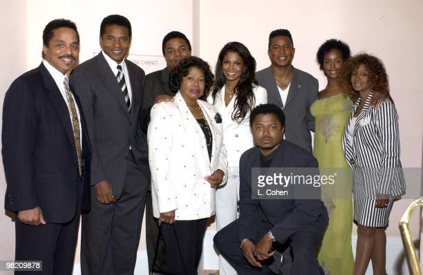 The Jackson family gather as The Recording Academy honor's Janet Jackson with their Governor's award