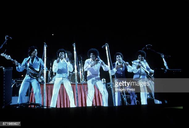 The Jacksons in concert circa 1985