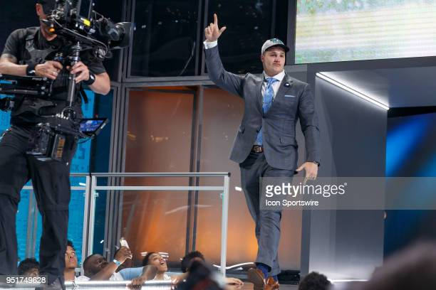 The Jacksonville Jaguars select Florida Defensive Tackle Taven Bryan 29th overall during the first round of the NFL Draft on April 26, 2018 at AT&T...
