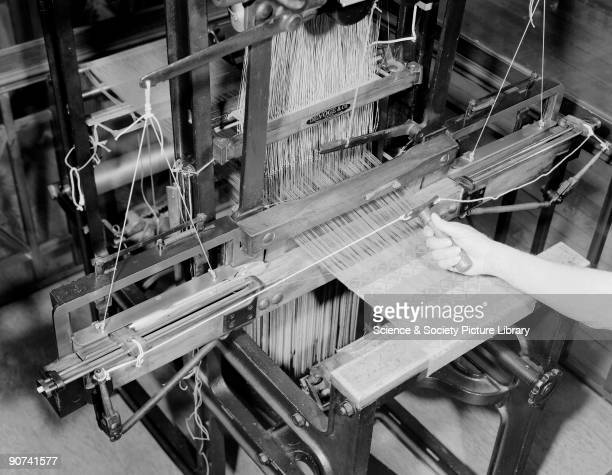 The Jacquard loom was invented by Joseph Marie Jacquard for weaving complicated patterns using a punched card system