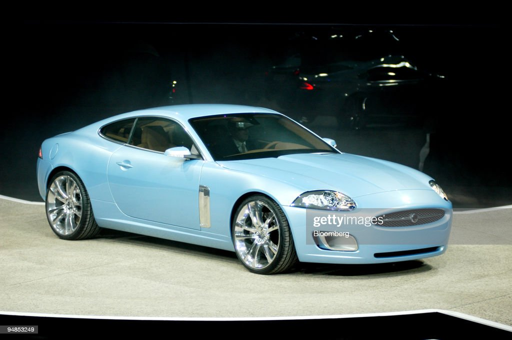 The Jaguar Advanced Lightweight Coupe Concept Vehicle Is Pictured