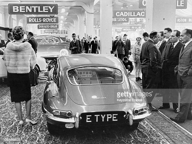 The Jaguar EType In Geneva In 1961
