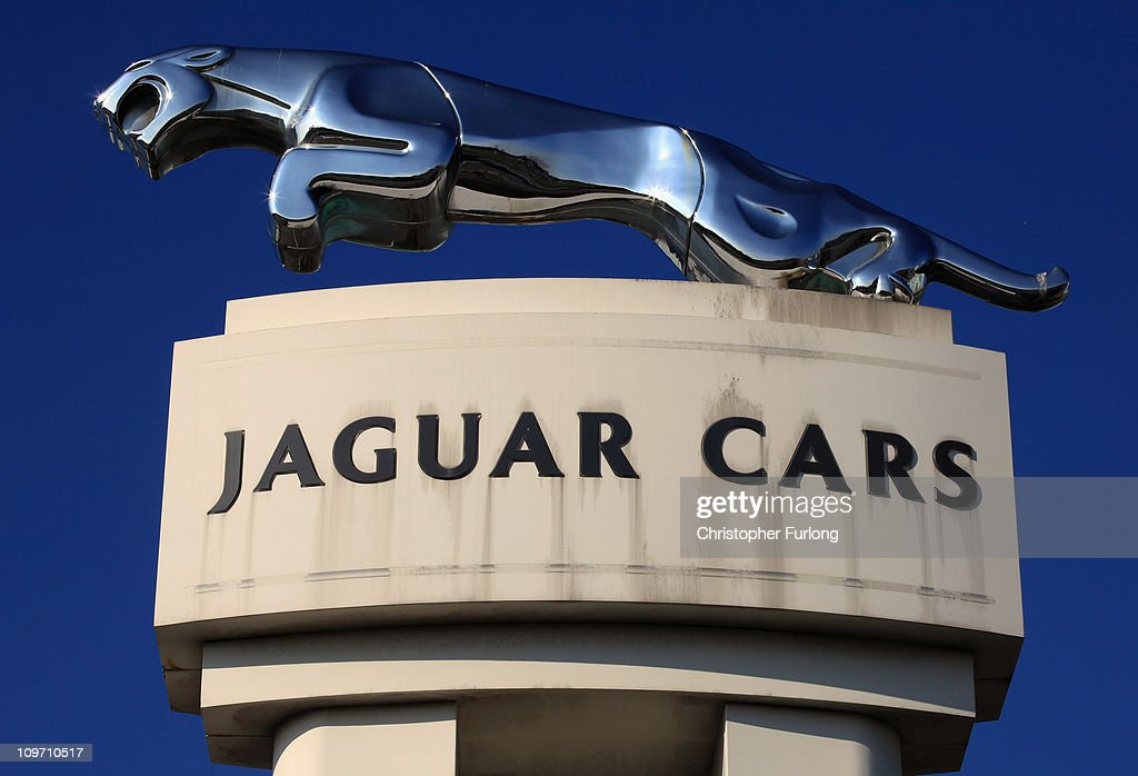 The Jaguar motif stands outside the Jaguar Land Rover Halewood assembly plant on March 2, 2011 in Halewood, England. Today the company announced over £2 billion worth of supply contracts to more than 40 companies in the UK for its new Evoque model creating 1,500 new jobs. The Range Rover Evoque is due to go on sale this Summer.