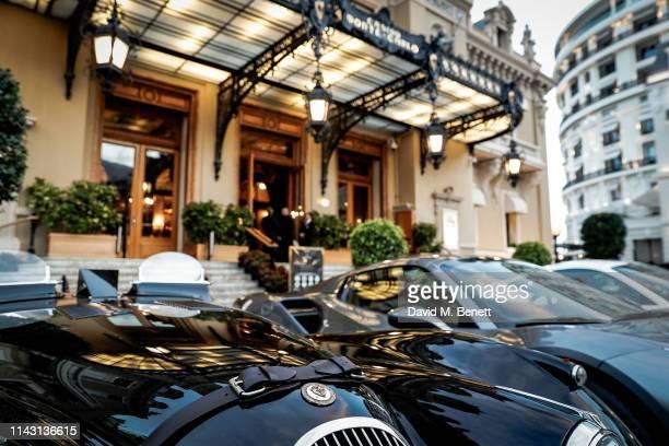 The Jaguar XK 120 at the ABB FIA Formula E 2019 Monaco E-Prix 'Casino Royale' Black Tie Event at Casino de Monte-Carlo on May 11, 2019 in Monaco,...