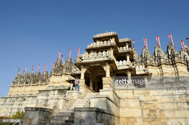 The Jain temple at Ranakpur The renowned Jain temple at Ranakpur is dedicated to Adinatha in Rajasthan on March 10 2017 in India