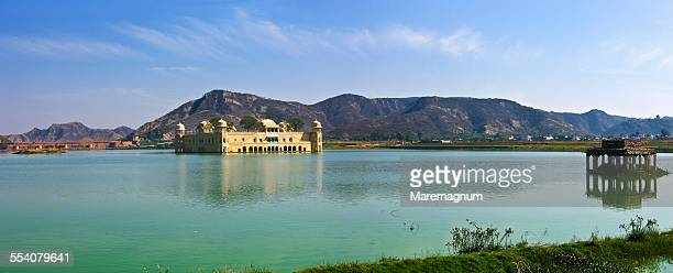 The Jal Mahal and the Man Sagar lake