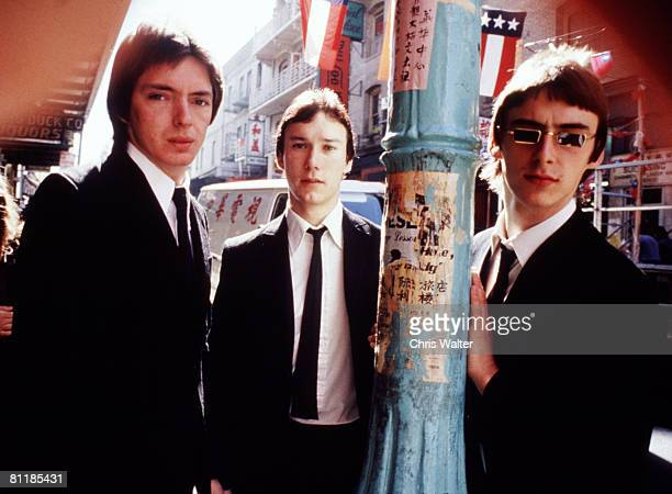 The Jam 1977 Bruce Foxton Rick Buckler and Paul Weller