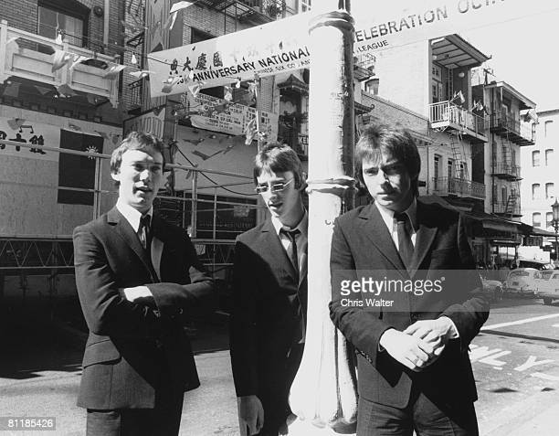 The Jam 1977 in San Francisco Rick Buckler Paul Weller and Bruce Foxton Chris Walter