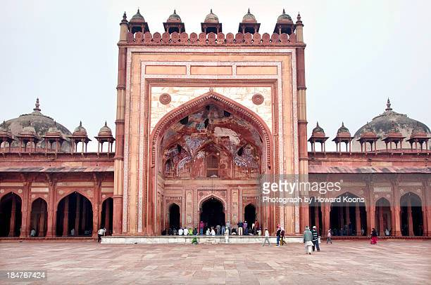 the jama masjid mosque _3940 - agra jama masjid mosque stock pictures, royalty-free photos & images