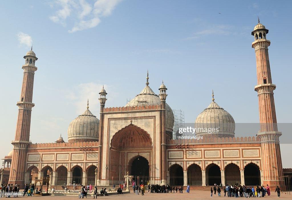 The Jama Masjid Mosque : Stock Photo