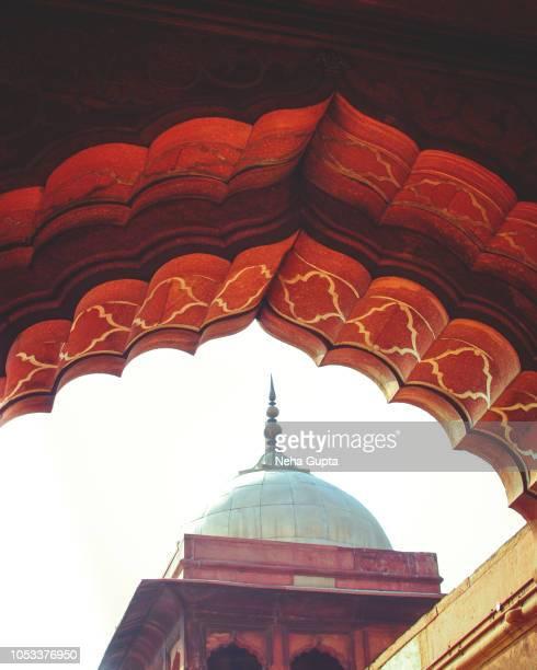 The Jama Masjid, New Delhi, India - Arches