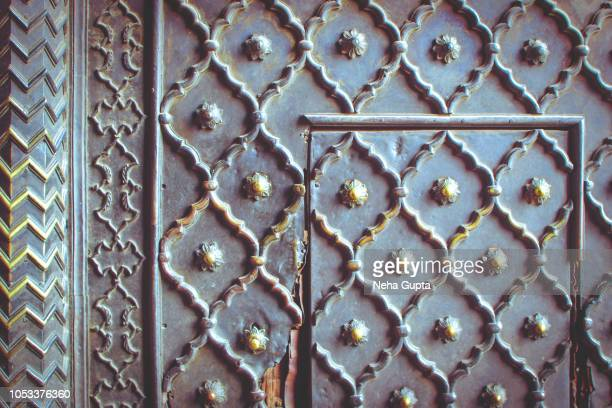 The Jama Masjid, New Delhi, India - Front Door Details