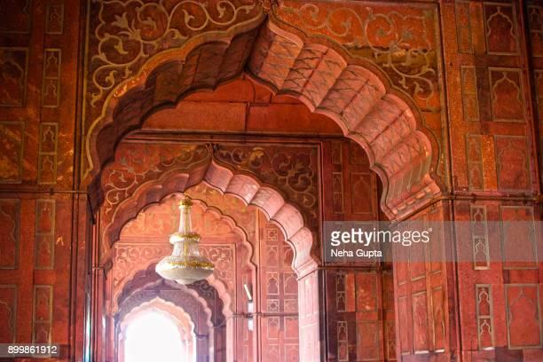 The Jama Masjid, New Delhi, India - Interior