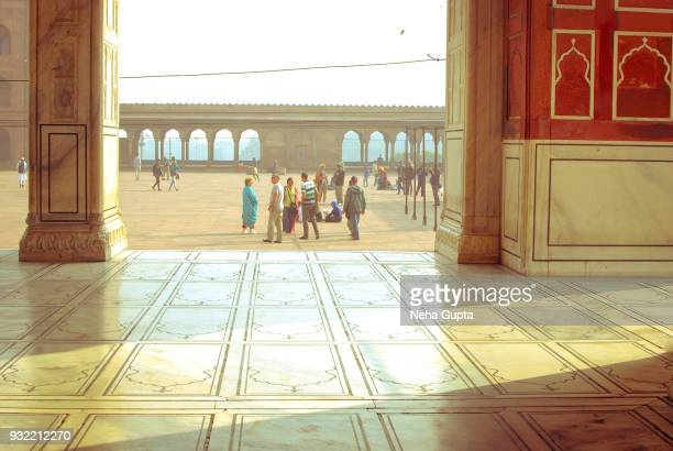 the jama masjid, new delhi, india - - neha gupta stock pictures, royalty-free photos & images