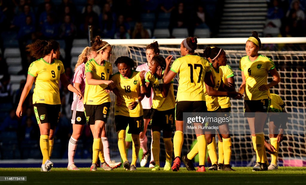 Scotland v Jamaica - Women's International Friendly : News Photo