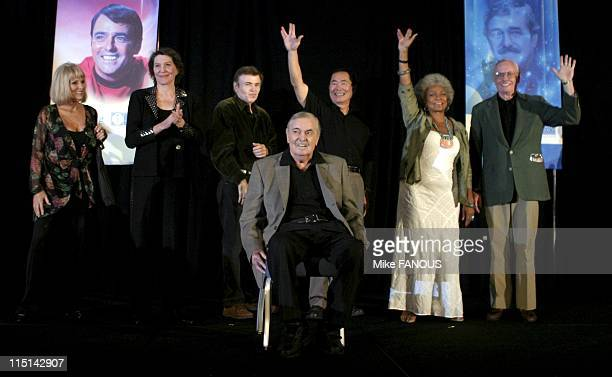 The James Doohan Farewell Star Trek Convention and Tribute at the Renaissance Hotel in Hollywood United States on August 29 2004 Star Trek original...