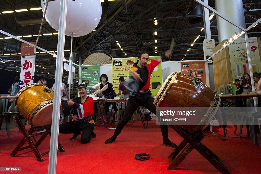 2011 Japan Expo In Villepinte In France : Fotografía de noticias