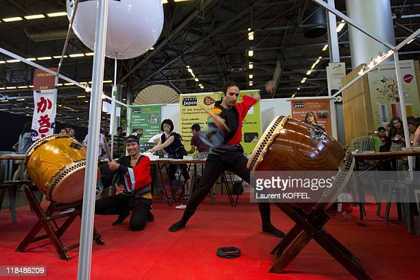 The Japan Expo Festival on July 3 2011 in Villepinte France