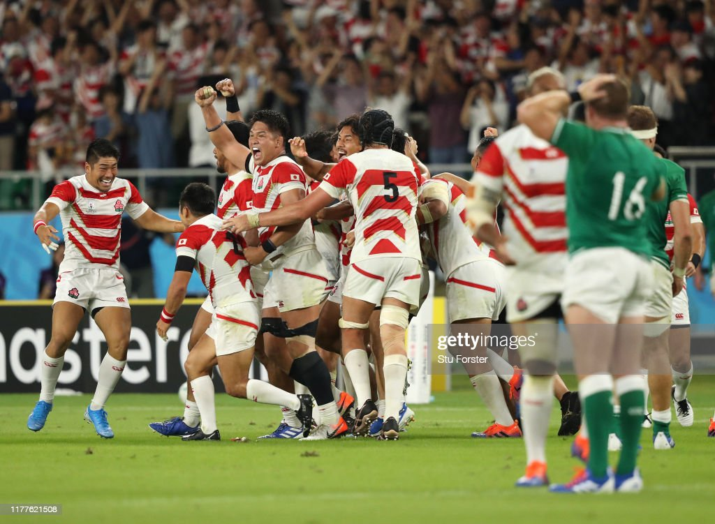 Japan v Ireland - Rugby World Cup 2019: Group A : ニュース写真