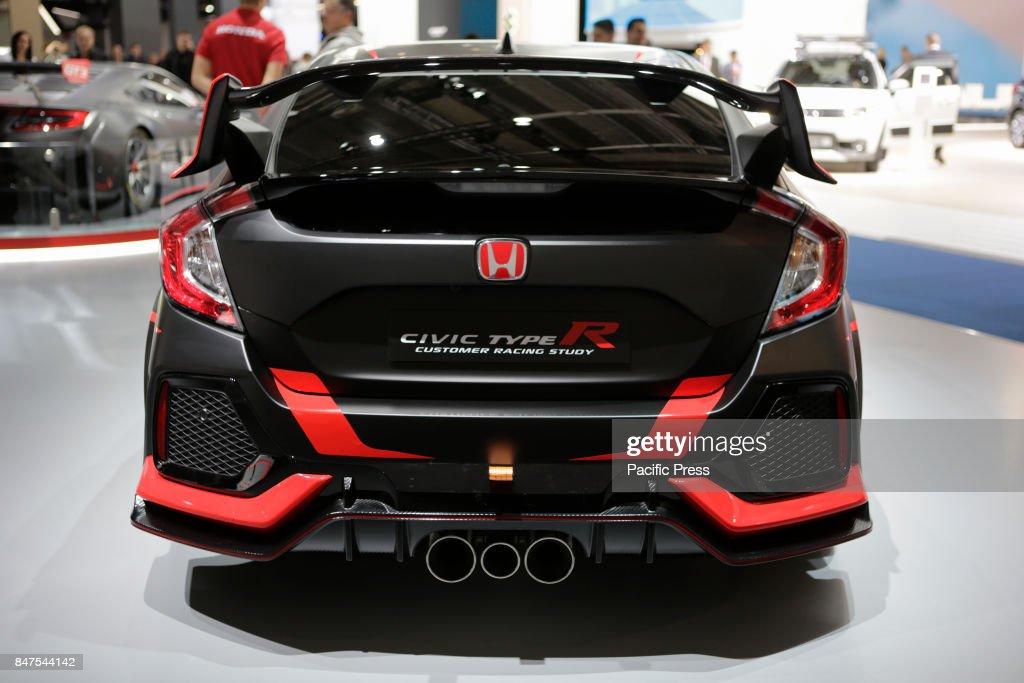 The Japanese Car Manufacturer Honda Presents Civic