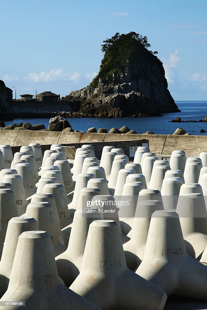 """The Japanese fetish for concrete and """"development"""" - of... : News Photo"""