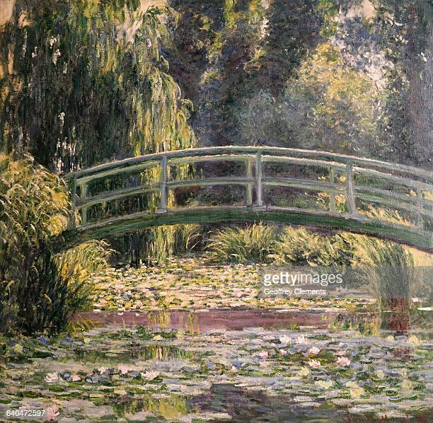 The Japanese Footbridge Giverny by Claude Monet