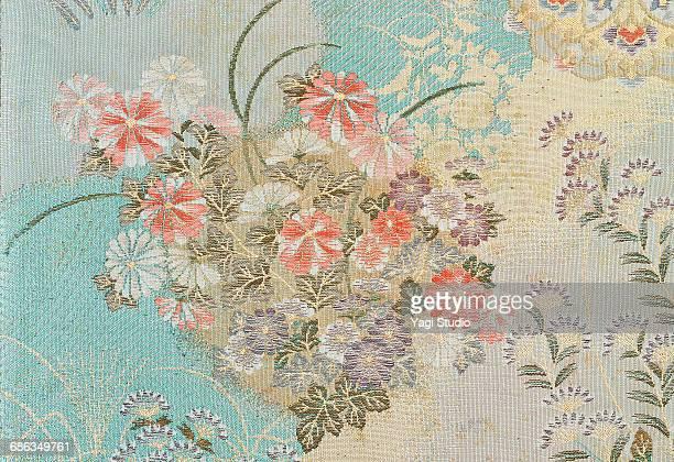 The Japanese Kimono, close up