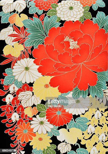 The Japanese Kimono, close up