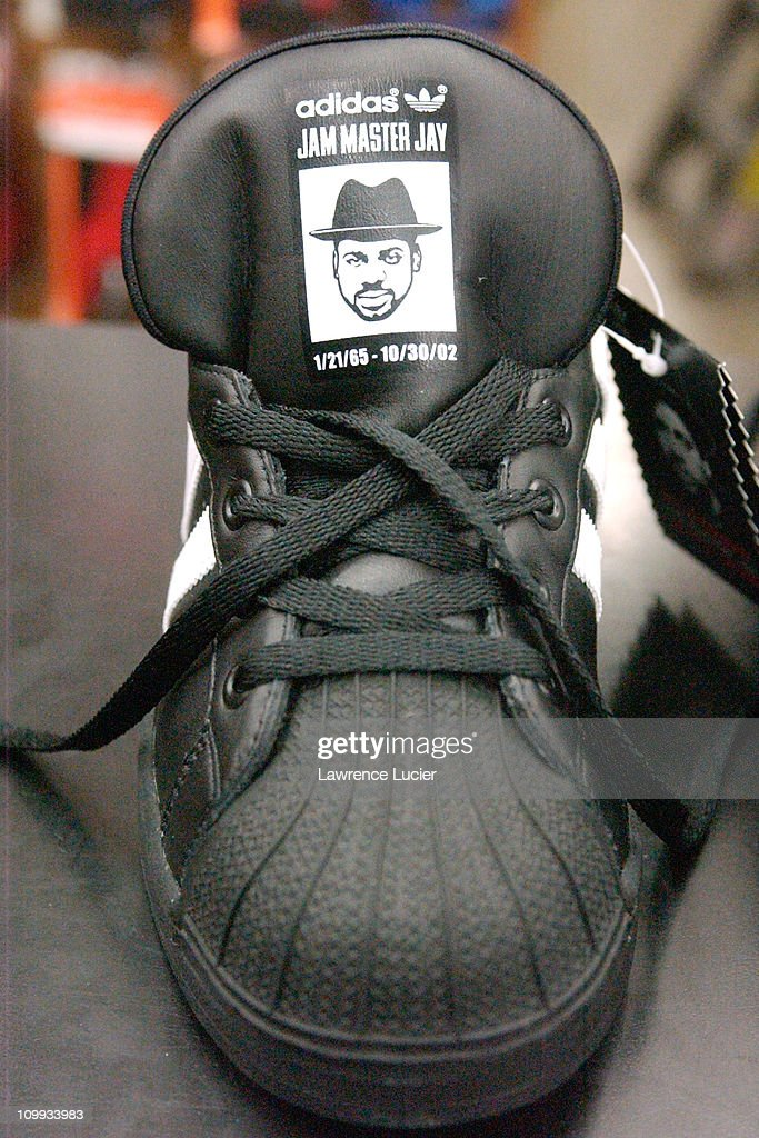 The Jason Mizell Ultrastar during Adidas Launches Shoes To Commemorate Jam  Master Jay - The Jason